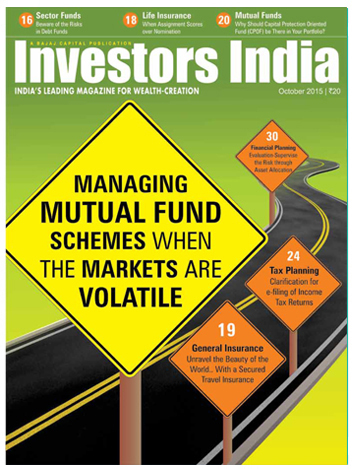 Investors India Magazine Edition-October 2015